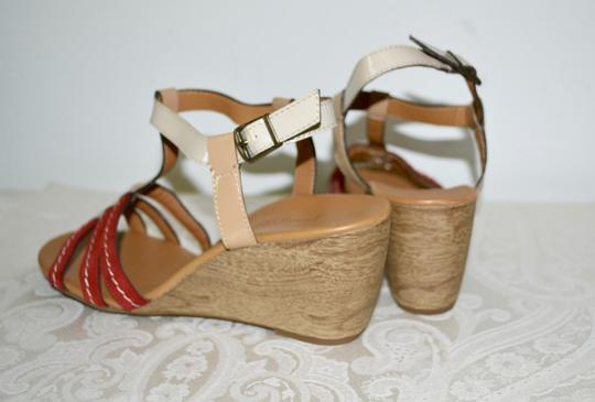 Paul Green Austria Wedges Comfortable Nordstroms Red Sandals Image 2
