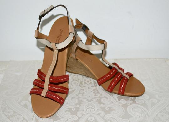 Paul Green Austria Wedges Comfortable Nordstroms Red Sandals Image 3