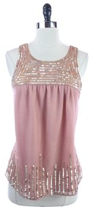 Ann Taylor LOFT Dusty Rose Top Pink