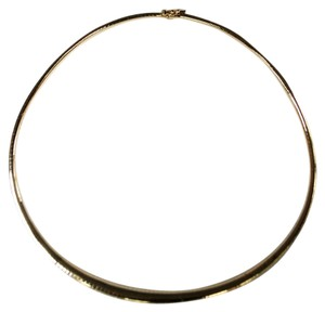 Gently Used 14k Yellow Gold Omega Chain Necklace