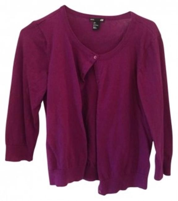 Preload https://item4.tradesy.com/images/h-and-m-violet-cardigan-size-12-l-158908-0-0.jpg?width=400&height=650