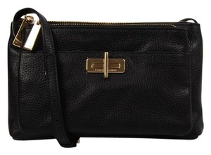 Tommy Hilfiger Leather Gold Hardware Cross Body Bag