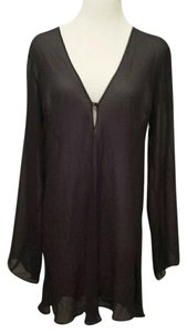 Victoria's Secret Victoria Secret Black Sheer coverup
