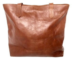 Fig Tree Jewelry & Accessories Leathertote Madewelltote Tote in Brown