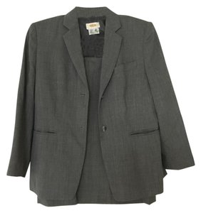 Talbots Gray Business Suit