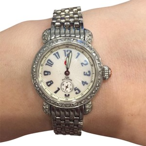 Michele Crystal embellished watch