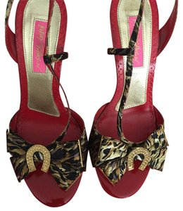 Betsey Johnson Cheetah Sandals