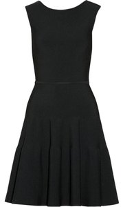 ISSA London Bodycon A-line Stretchy Ribbed Dress