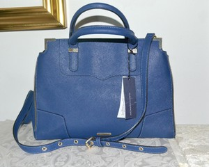 Rebecca Minkoff Satchel in NAVY blue