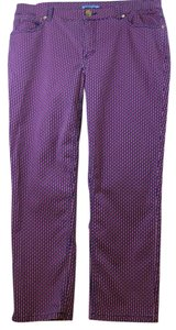 CYNTHIA CYNTHIA ROWLEY Straight Pants Multi Color