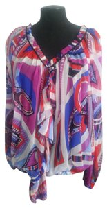 Emilio Pucci Top Magenta, Red,White, Blue, Periwinkle, Black