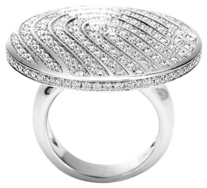 Piaget Piaget 18k White Gold And Diamonds Ring G34U5454 US 6.75 EU 54