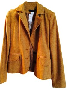 The Limited Camel With Multicolors Blazer