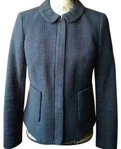 Talbots Cotton Black Blazer