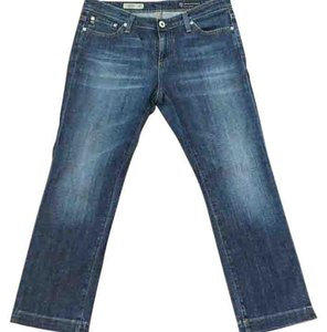 AG Adriano Goldschmied Capris Medium wash denim