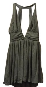short dress Olive green on Tradesy