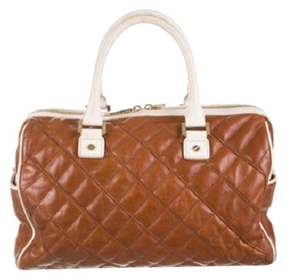 8fde2dd0270 Tory Burch Leather Handle Cognac Tote Bag | Totes on Sale