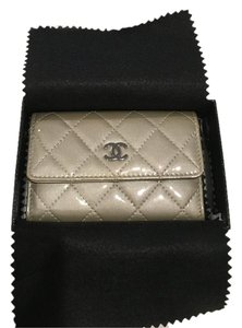 Chanel Chanel Quilted Patent Calfskin Wallet