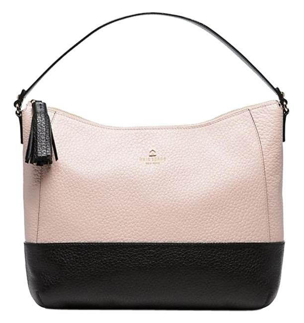 Item - Southport Avenue Cathy Pink Colorblock Leather Hobo Bag
