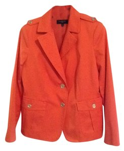 Talbots Orange suit jacket. Never worn