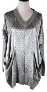 Thomas Wylde Cashmere Dolman Tunic Sweater