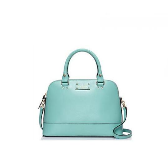Preload https://item5.tradesy.com/images/kate-spade-small-rachelle-msrp-blue-pebbled-leather-satchel-1589489-0-1.jpg?width=440&height=440