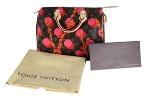 Louis Vuitton Speedy Limited Edition Ramages Leather Speedy 30 Satchel in Multicolor