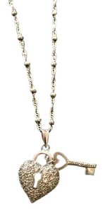 Macy's Heart Lock and Key necklace
