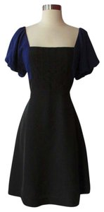 Moulinette Soeurs short dress Black/Blue on Tradesy