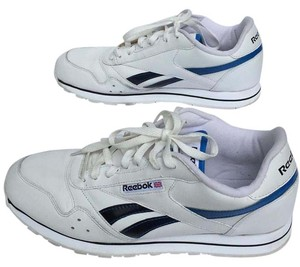 Reebook Classic White and Blue Athletic