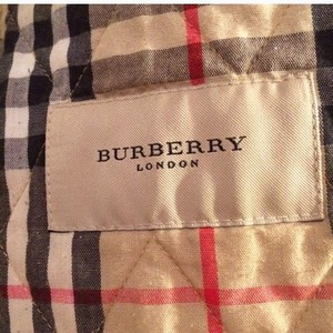 Burberry Quilted White Jacket