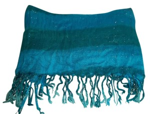 Target Blue and Silver Scarf
