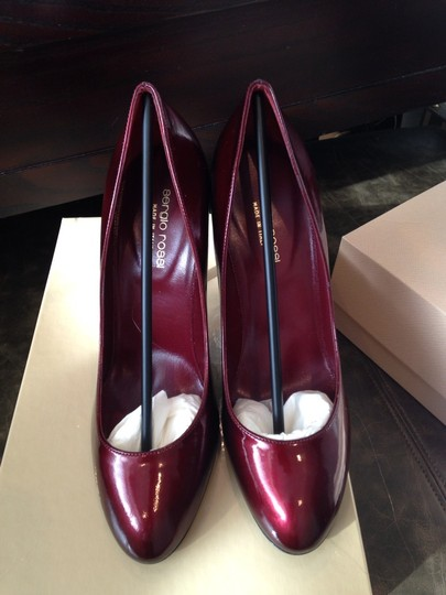 Sergio Rossi Red Patent Ruby Pumps