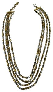Monet Monet Two Tone Chain Ncklace