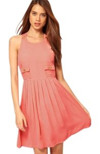 ASOS short dress Pink/Coral on Tradesy