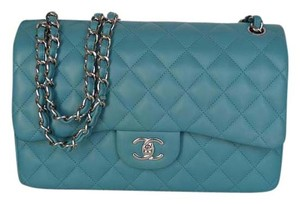 Chanel Jumbo Double Flap Lambskin Shoulder Bag