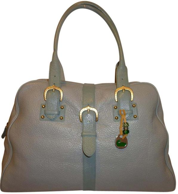Item - Xxx-lg Refurbished And Light Green Leather Hobo Bag
