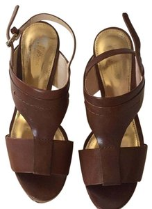 Coach Almond Wedges