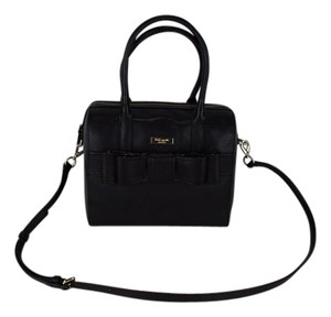 Kate Spade Alice Court Kaiya Satchel in Black