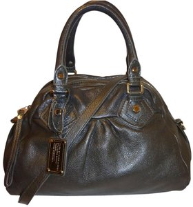Marc Jacobs Leather Satchel Cross Body Hobo Bag