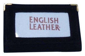 Hand Made RN#91181 Black English Leather Credit Card Wallet or Picture Wallet