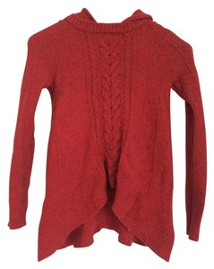 Anthropologie Wool Knitted Cable Knit Warm Cozy Sweater
