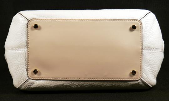 Kate Spade Satchel in Chalk White and Fawn