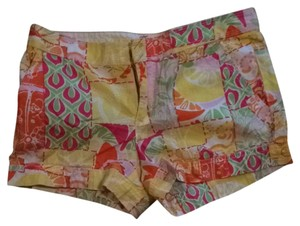 Lilly Pulitzer Shorts Pink, Orange, Yellow, Green