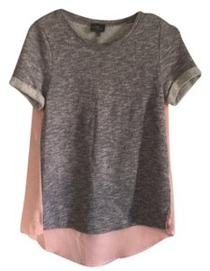 Market & Spruce T Shirt Gray, pink