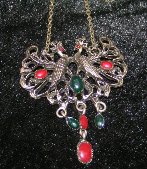Bronze/Red/Green Bogo Free Antiqued Free Shipping Necklace Image 2