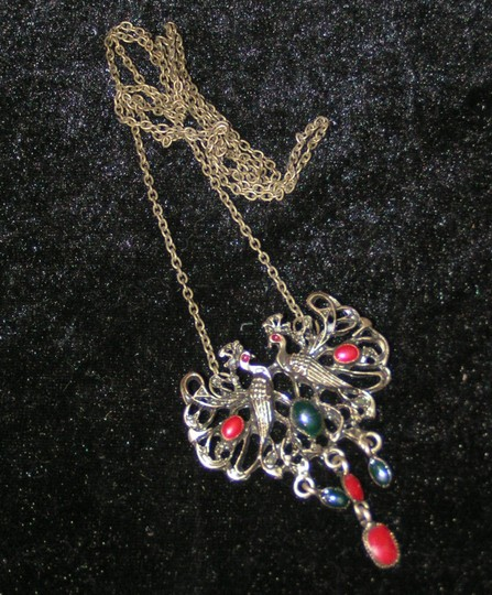 Bronze/Red/Green Bogo Free Antiqued Free Shipping Necklace Image 4
