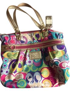 Coach Summer Limited Edition Tote in Multicolor