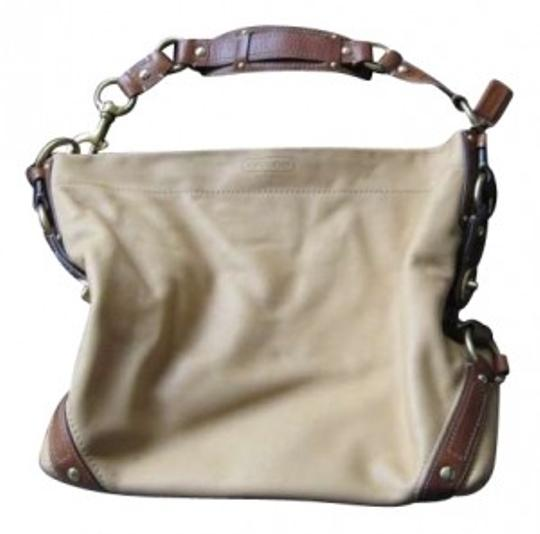 Coach Leather Large Shoulder Bag