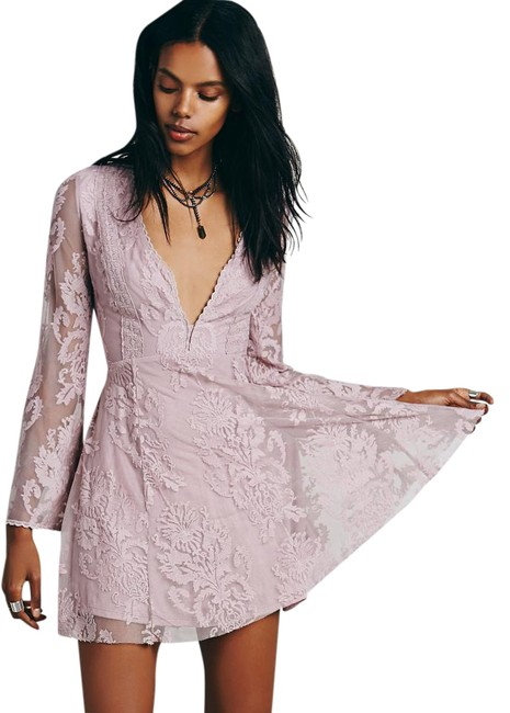Item - Dusty Lilac Reign Over Me Style #32999229 Mini Night Out Dress Size 4 (S)